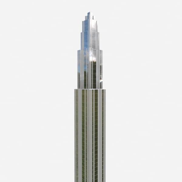 3d skyscraper buildings model