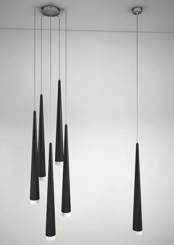 hanging lamp azzardo stylo 3d 3ds