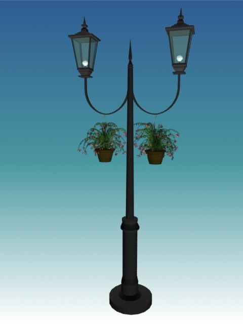 3ds street light