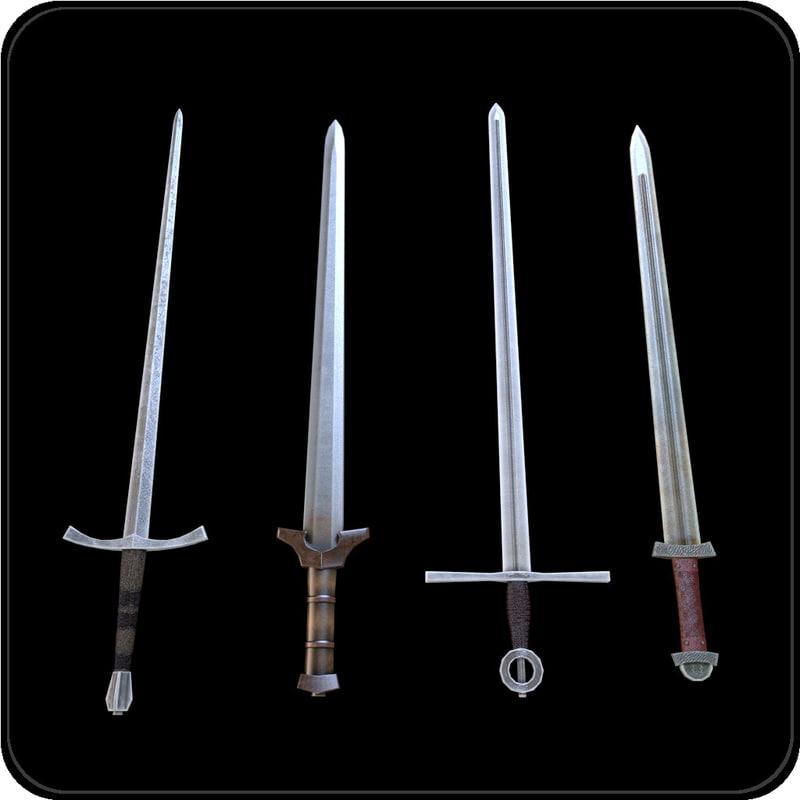 pack swords 3ds