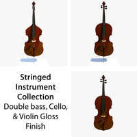 Stringed Musical Collection Glossy