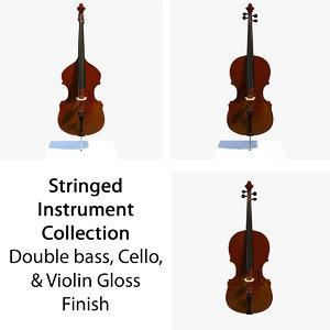 maya glossy musical instruments