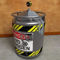 Liquid Nitrogen Tank Container