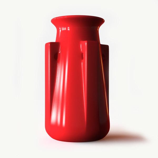 teco buttress vase 3d max