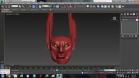 Basic 3D Alien Head Model