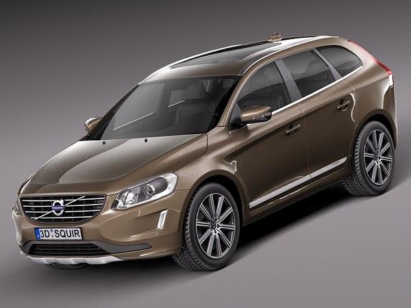 3d model 2013 2014 suv xc60