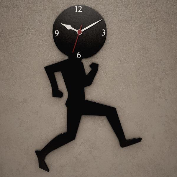 fxb wall clock 3d max