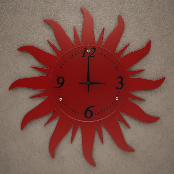 3d model fxb wall clock
