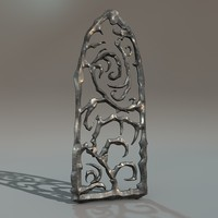 iron window 3d model