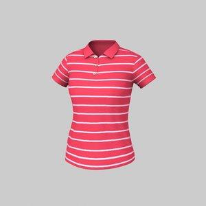 maya polo striped t