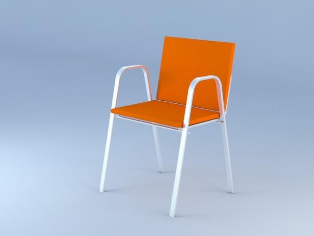 basic chair obj