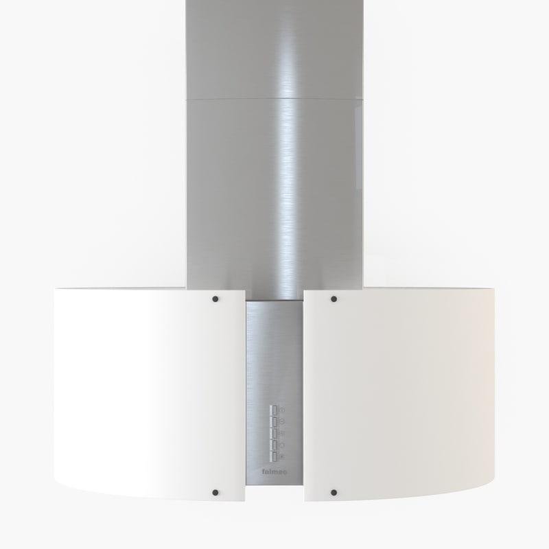 kitchen extractor falmec mirabilia 3d max