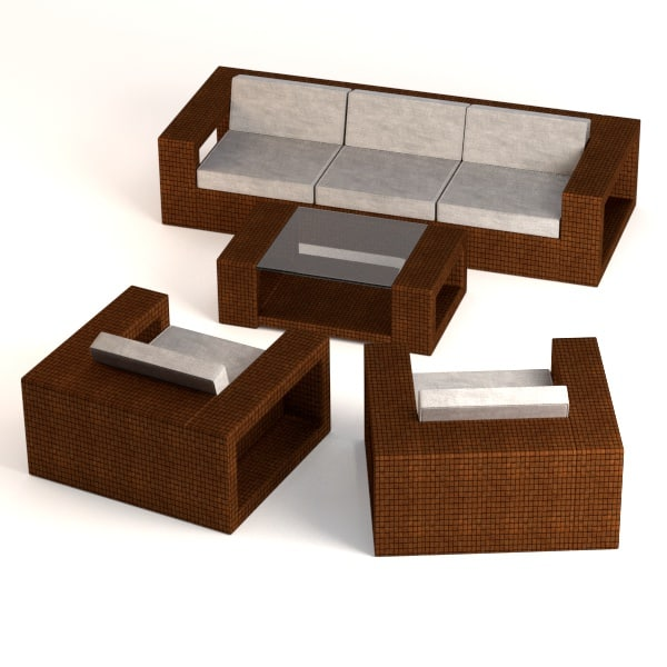 maya garden furniture set