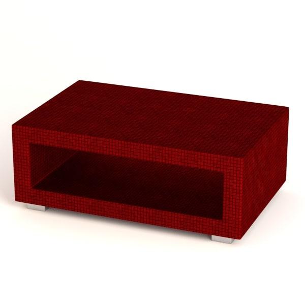 3d model garden furniture table