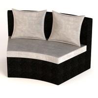 garden furniture chair 3ds