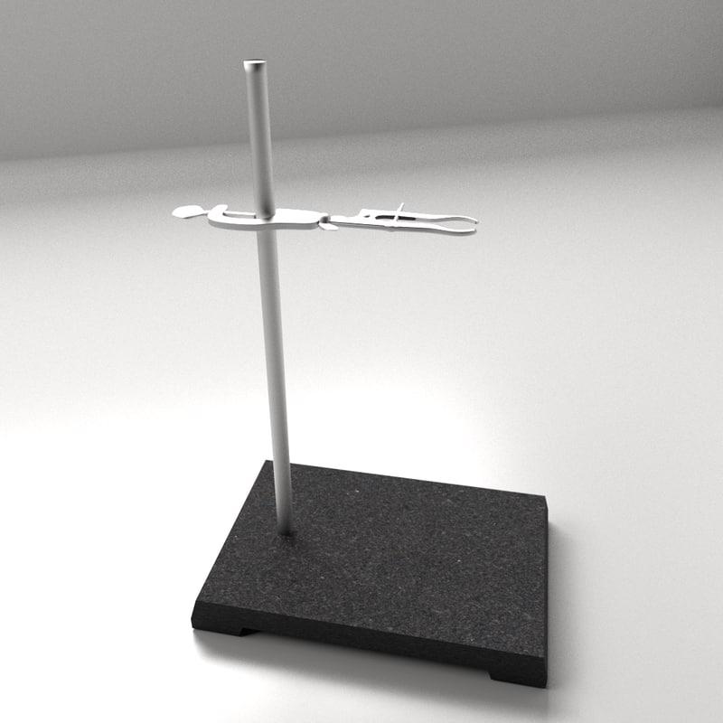 blender lab support stand