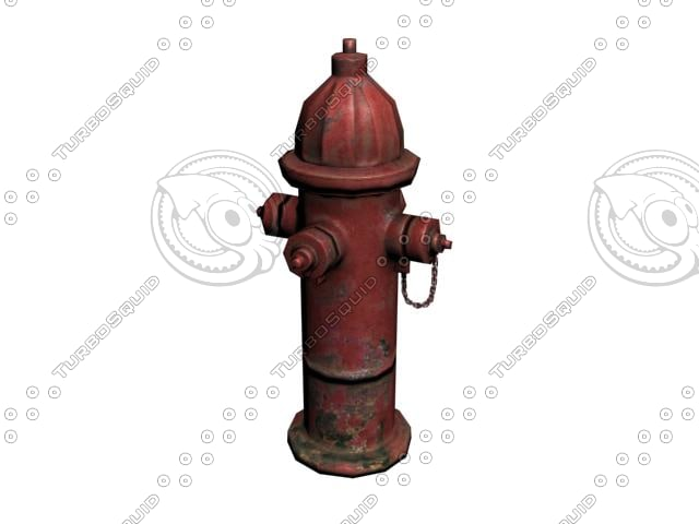 3ds max hydrant