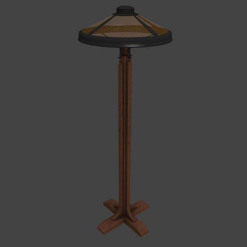antique floor lamp max
