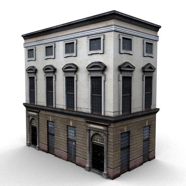 building s 3d model