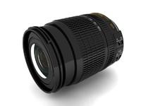 3d model zoom lens