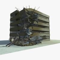 3d model of building 1