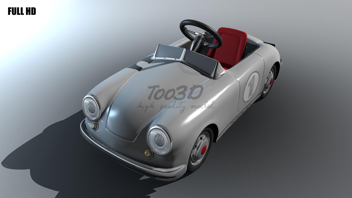 3d model toy car 356
