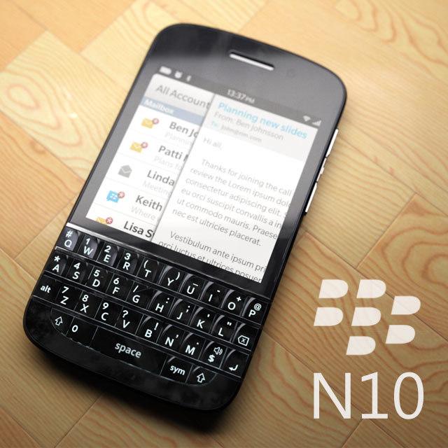 rumoured blackberry n10 3d max