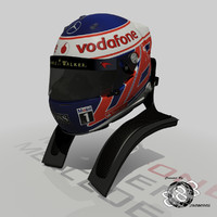 Jenson Button Helmet 2013