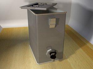 water boiler 3d model