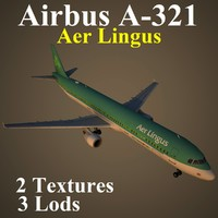airbus ein 3d max