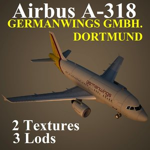 airbus gwi 3d max