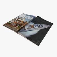 3d c4d open magazine