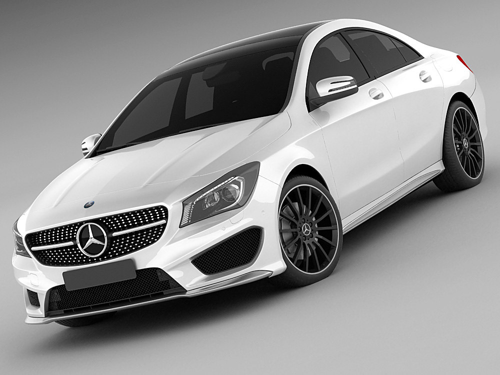 3d 3ds mercedes cla amg
