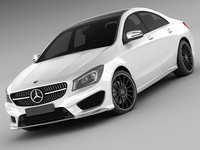 Mercedes CLA AMG package