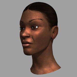 max female head