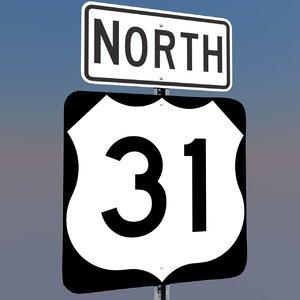 3d model u s highway 31