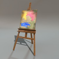 3d painting stand