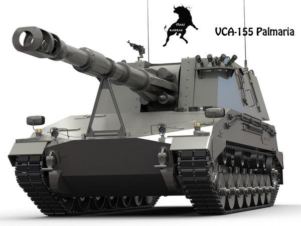 palmaria vca-155 3d model