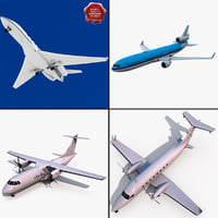 Passenger Aircaft Collection V2