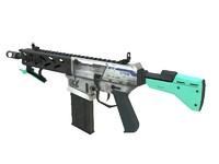 3ds max peacekeeper assault rifle gun