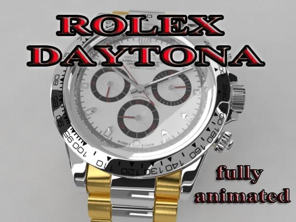 3d rolex daytona