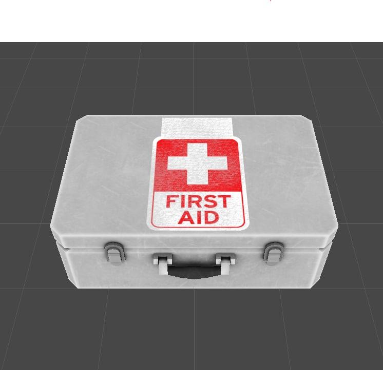 aid kit obj