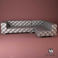 3d model visionnaire teodosio sofa