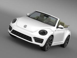beetle rline cabrio 2014