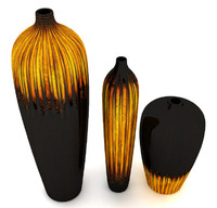 vase decoration furniture 3d model
