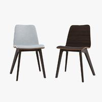 3d model morph wood chair
