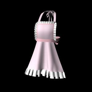 apron maid 3d model