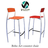 bar stool chair 3d model