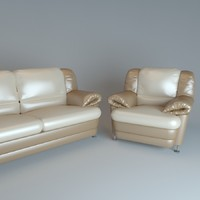3d viktoria sofa chair