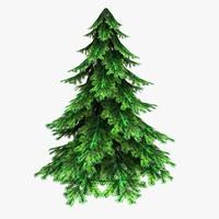 Spruce(Low Poly)